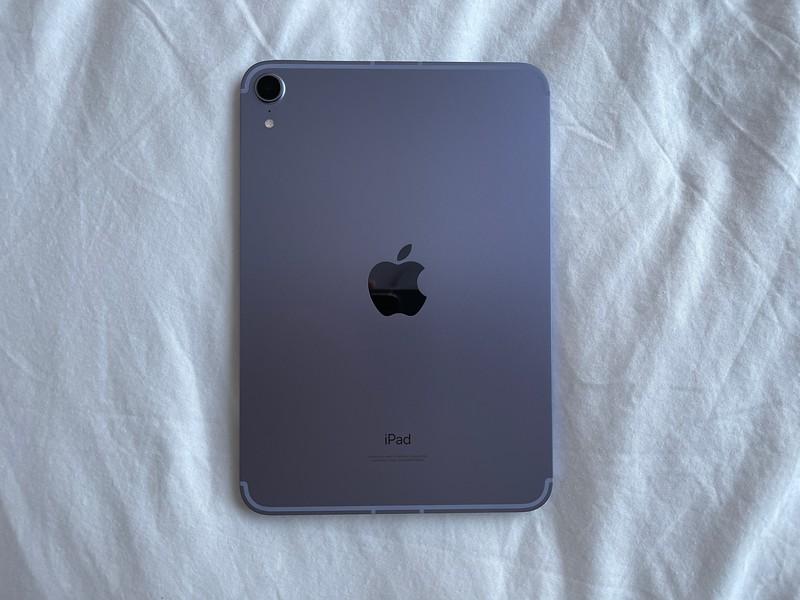 Purple iPad mini 6