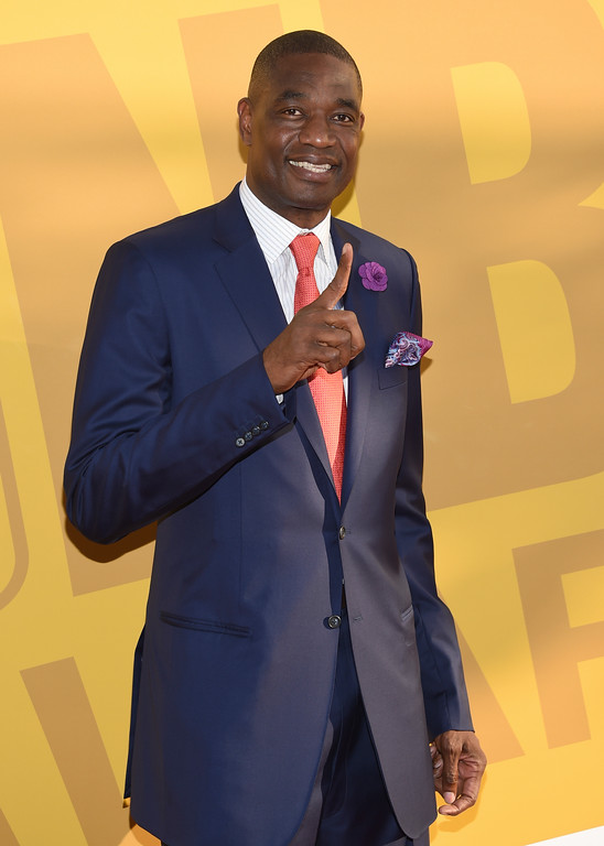 . Dikembe Mutombo arrives at the NBA Awards at Basketball City at Pier 36 on Monday, June 26, 2017, in New York. (Photo by Evan Agostini/Invision/AP)