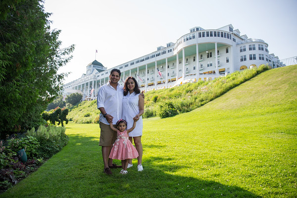 Grand Hotel family photography lawn, porch, ice cream by Paul Retherford
