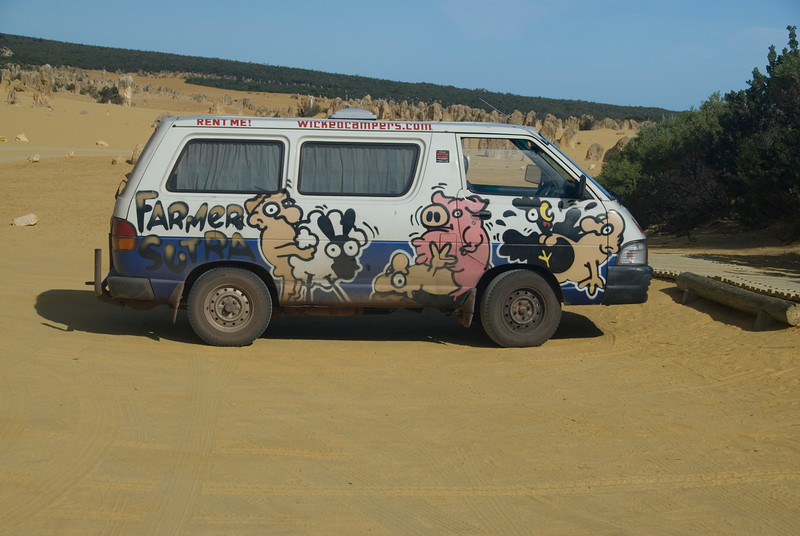 Wicked Camper - Western Australia
