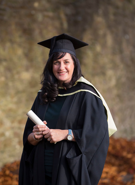 02/11/2016. Waterford Institute of Technology (WIT) Conferring Ceremonies November 2016. Pictured is Amy Hickey from New Ross who graduated with an MA in Management in Education. Picture: Patrick Browne