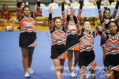 11-12-2016 Rockville HS at MCPS Cheerleading Championship Division 3 at Montgomery Blair HS, Photos by Jeffrey Vogt Photography
