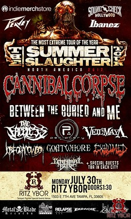 Summer Slaughter Tour July 30, 2012