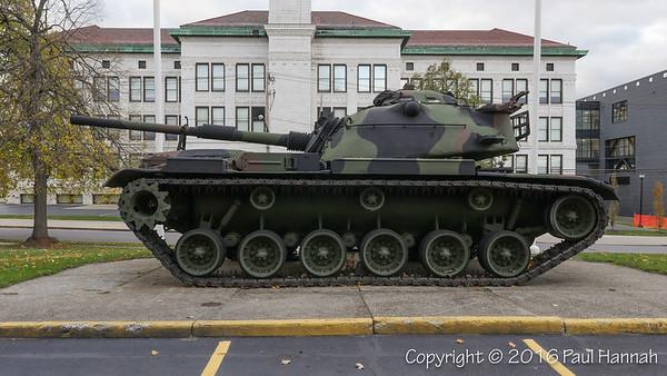 NY National Guard Armory - Buffalo, NY - M60 & 155mm