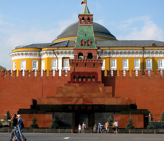 Lenin's Crypt in the Red Square