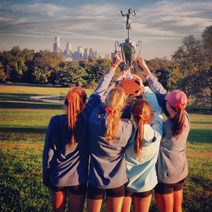Girls' Cross Country: Inter-Ac League Champions!