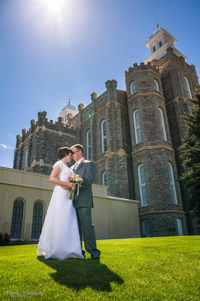Logan Temple Wedding Pictures