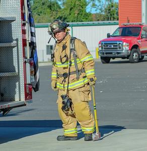 Live Burn - Fairfield Fire School, Fairfield, CT - 9/29/19