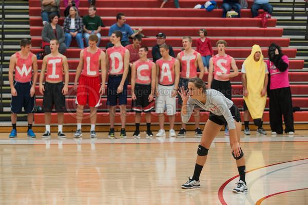 10/31/13 Volleyball Senior Night
