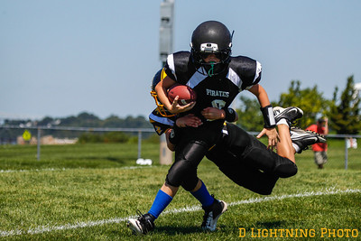 08/25/13 Junior Peewee Pirates vs Panthers