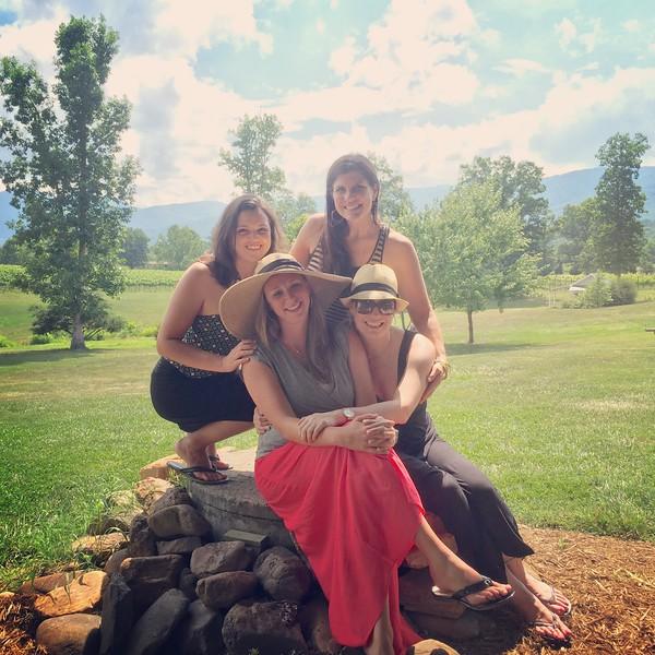 Woodbridge Ladies come to Visit - June 2015