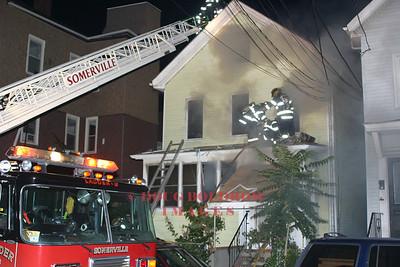 Somerville, MA - 3rd Alarm, 47 Houghton Street, 7-18-06