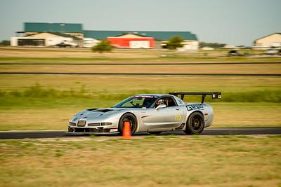 30 Silver Corvette