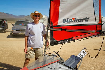 New Zealand Blokart Sailor John Shurlock