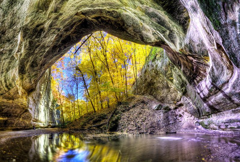 Ottawa Canyon in Fall