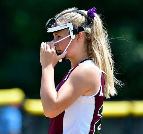 7/24/2019 Mike Orazzi   Staff Rhode Island's Ava Fairbanks (24) during Wednesday's Little League Softball game in Bristol.
