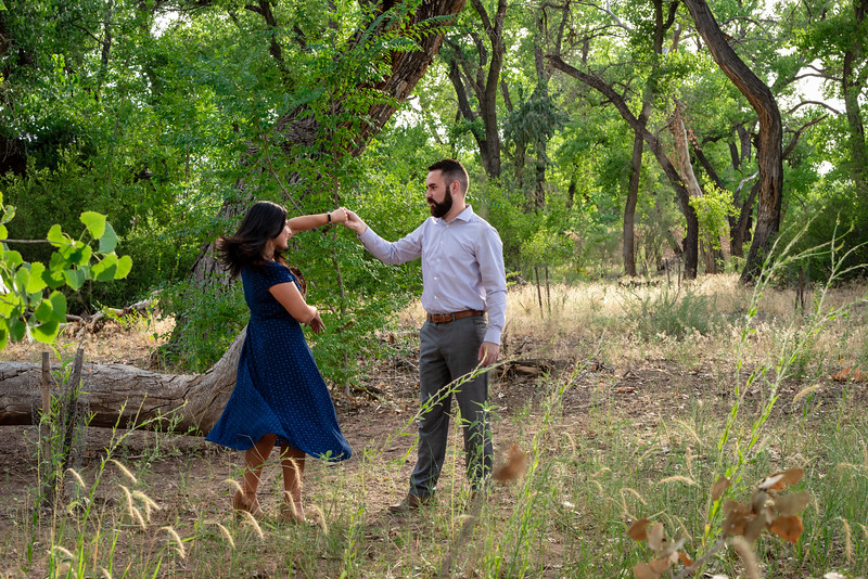 Summer Bosque Engagement Session Corrales New Mexico AJ & Gloria-7681.jpg