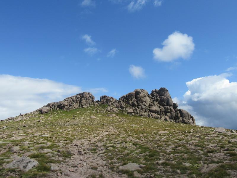 Ben Avon summit tor