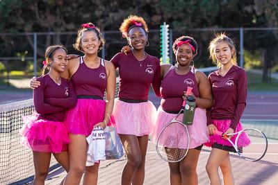Upper School Girls Tennis - Senior Night