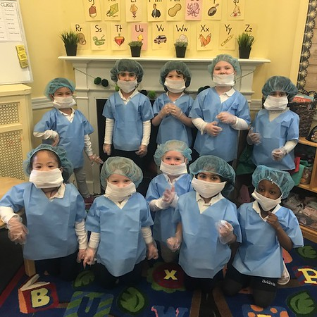 Pre-K Performs Surgery