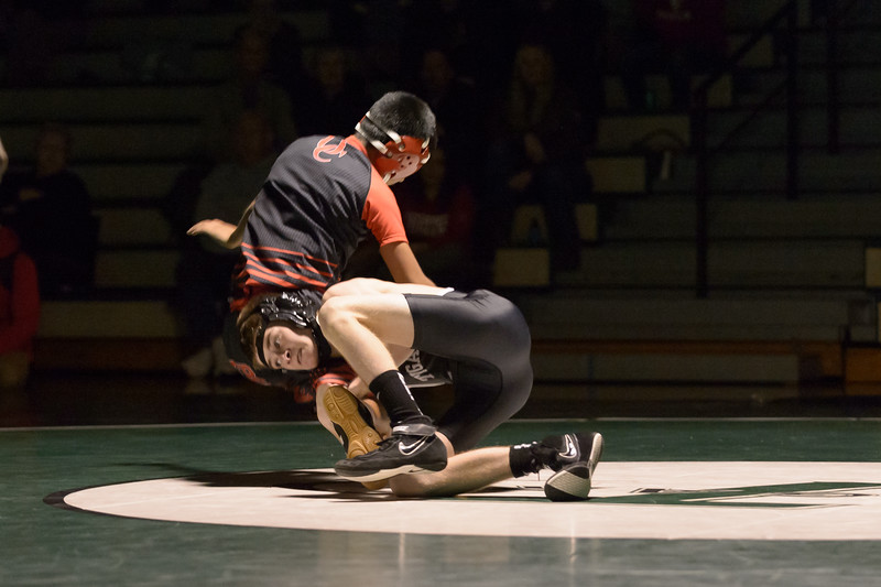 Tigard HS Varsity Wrestling vs Oregon City -106