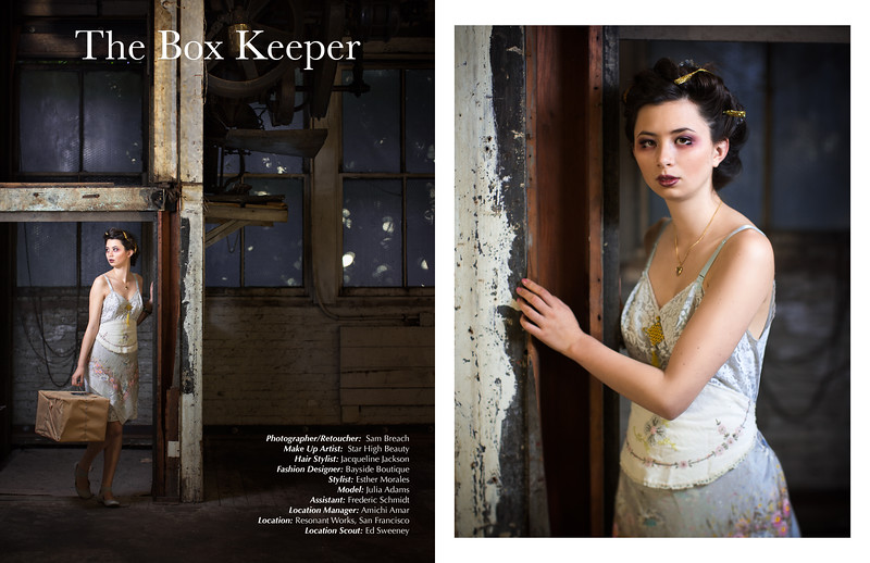 The Box Keeper by Sam Breach for SALYSÉ Magazine, March/April 2015