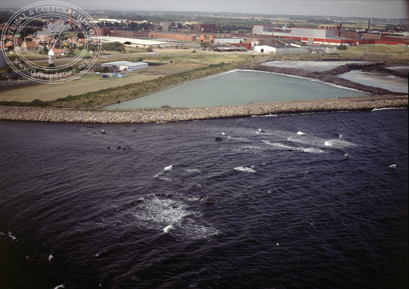 Höganäs, dams close to the coast (1990)| PH.0064