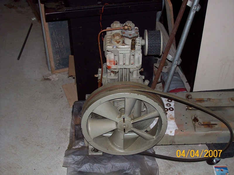 Quincy 310 compressor cleaned  2.JPG