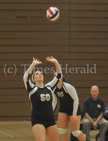 Upper Merion Plays West Chester Henderson in Volleyball Playoff