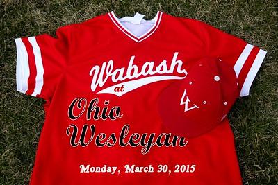 2015 Wabash at Ohio Wesleyan (03-30-15)