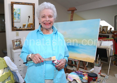 Painter Marjorie Low - September 14, 2016