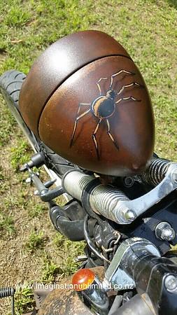 Harley Davidson Rat Bike