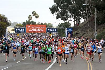 Tri-City Medical Center Carlsbad Marathon & Half Marathon 2012