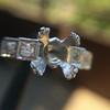 Antique 5-stone Setting, Platinum 2