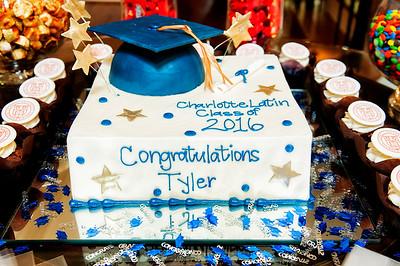 Tyler Henry's Graduation Celebration - Charlotte Latin 5-28-16 by Jon Strayhorn