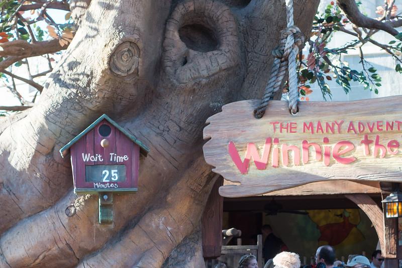 Winnie the Pooh Wait Time - Magic Kingdom Walt Disney World