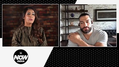 Roman Reigns - Screencaps / WWE Now India Interview - Part 2