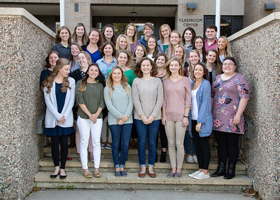 School of Communication Sciences and Disorders Group 2018-19
