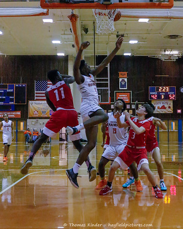 Boys JV Basketball v Annandale 1/31/20
