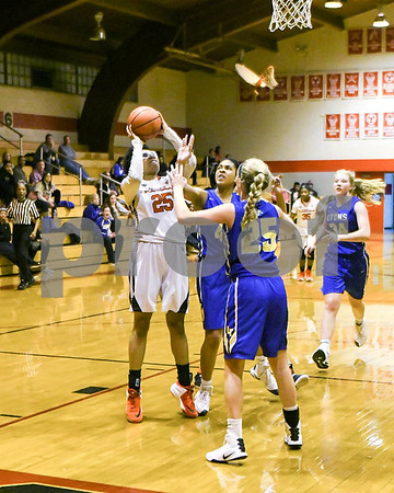 Lyons Township girls baketball team traveled to Westchester for a game against St. Joseph Saturday