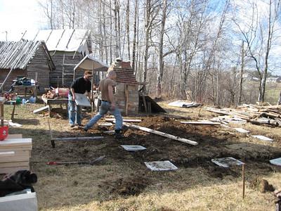 2009-04 & 05 Construction des McAles par Hysk, Vero et Karl
