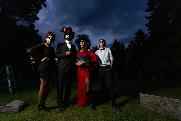 Kaull Family 2019 - Day of the Dead - Bozeman, MT