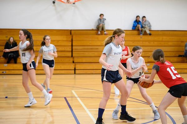 Grade 7 Girls Basketball vs Greens Farm