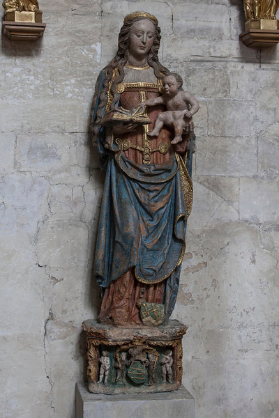Normandy, Eu Eglise Notre-Dame and Saint-Lawrence Virgin and Child
