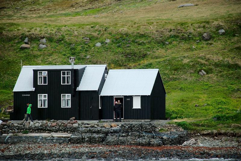 Aðalvík - Látrar. Sjávarhúsið. 2013.