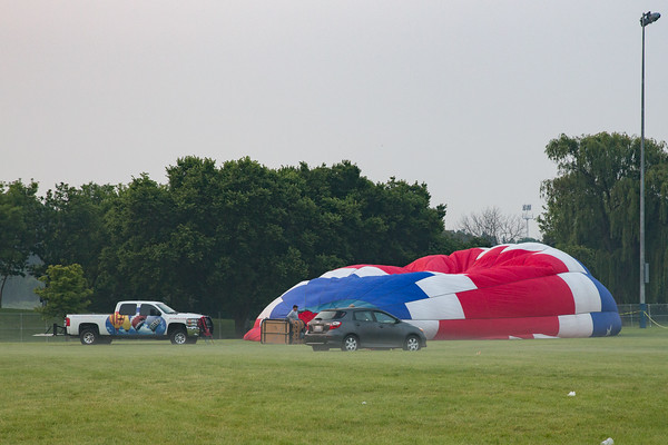 Lisle Balloon launch 2015