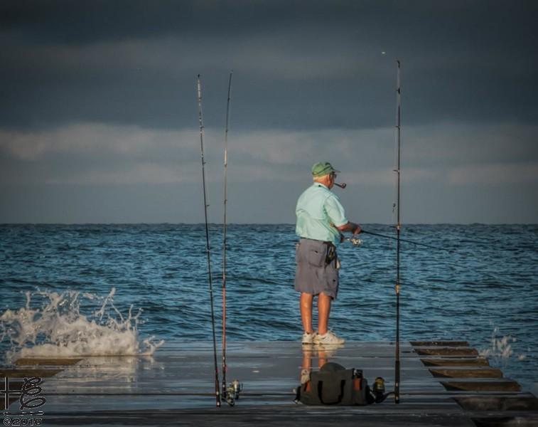 Fisherman @ sunrise