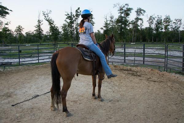 Lindsay rides Pepper 070114