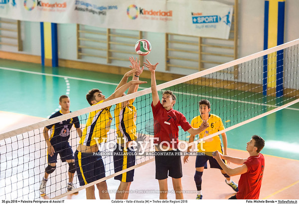 Calabria - Valle d'Aosta [M] #TDRVolley2016