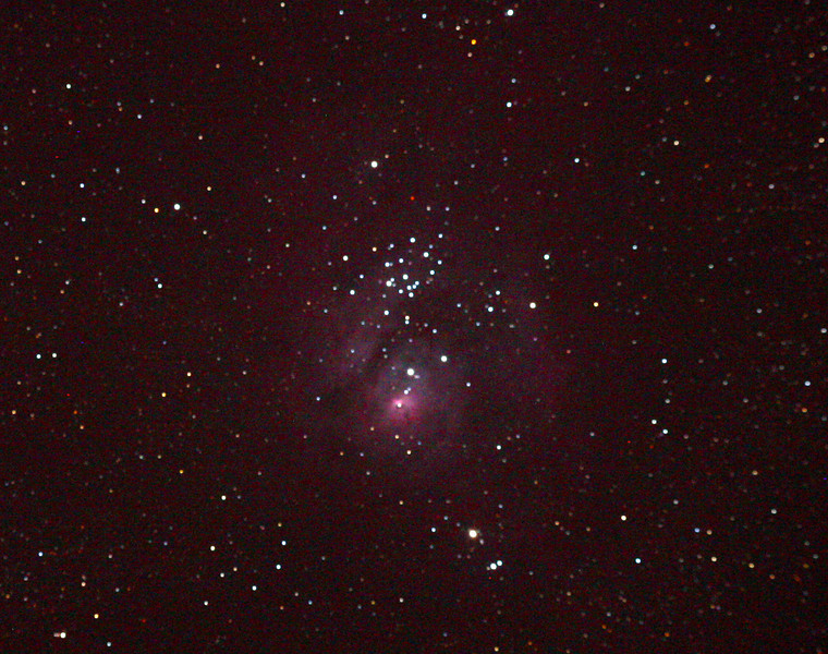 Messier M8 - NGC 6530 - Lagoon Nebula and Cluster 25/09/2010 (Processed)